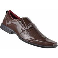 e0715adc54 ... Sapato Social D&R Shoes Masculino - Masculino-Marrom
