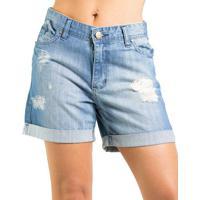 Bermuda Jeans Destroyed Iódice
