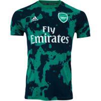 Camisa Pré-Jogo Arsenal 19/20 Adidas - Masculina - Verde/Azul Esc