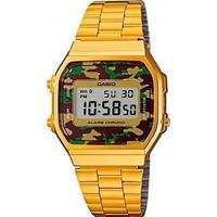 Relógio Vintage Military Casio - Unissex-Dourado