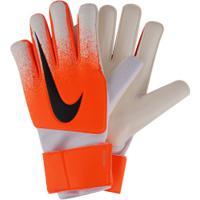 Luvas De Goleiro Nike Gk Match - Adulto - Branco/Laranja
