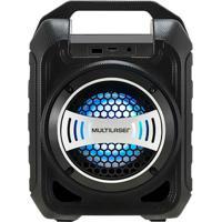 Caixa De Som Bluetooth Multilaser Sp313 30W Usb E Rádio Fm