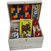 Baú Criativo Com 1000 Peças Tipo Lego Baú E Peças Plásticas - Jottplay