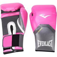 a2f6055d8 Luva De Boxe Muay Thai Everlast Pro Style 14 Oz - Unissex