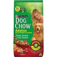Ração Para Cães Dog Chow Adultos Raças Médias E Grandes 3Kg