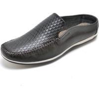 Sapato Mule Babuche Cor Grafite 8004