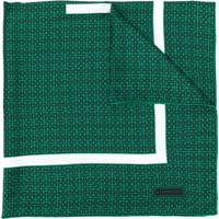 Givenchy Echarpe Com Estampa - Verde