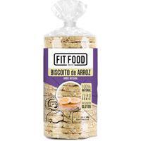Biscoito De Arroz Integral Tubo 90Gr - Fit Food