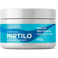 Máscara Lowell Alto Impacto Mirtilo 40G - Unissex-Incolor