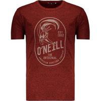 Camiseta O'Neill Especial Original Masculina - Masculino-Laranja