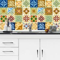 Adesivo Azulejos Modernos 03 (15X15Cm)