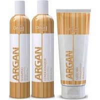 Doux Clair Effets Argan Kit Hidratante Para Uso Diário 3 Produtos