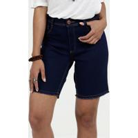 Bermuda Feminina Jeans Stretch Biotipo