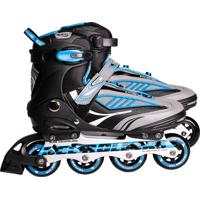 Patins Inline Rollers Future Abec-7 - Azul 37 Belfix
