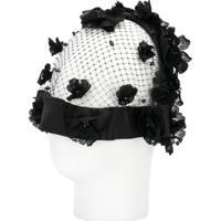 Dolce & Gabbana Acessório Para Cabelo Floral - Preto