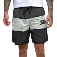 Shorts Starter Colors Masculino - Masculino-Chumbo