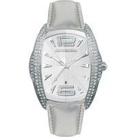 Relógio De Pulso Chronotech Prisma Deluxe - Aço - Feminino-Prata