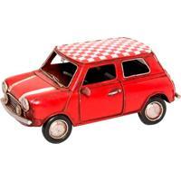 Miniatura Decorativa Fiat Vermelho