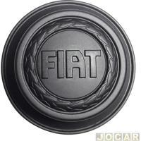 Calota Do Centro Da Roda Fiat - Original Fiat - Palio 1996 Até 2000 - Fiorino 1987 Até 2004 - Cada (Unidade) - 7.527.630