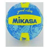 Bola De Vôlei Mikasa Good Vibes Azul E Amarela
