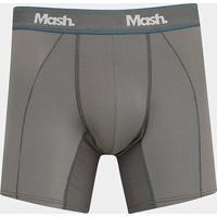 Cueca Boxer Mash Microfibra - Masculino-Cinza
