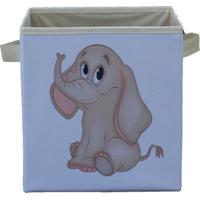 Caixa Organizadora De Brinquedos Elefantinha