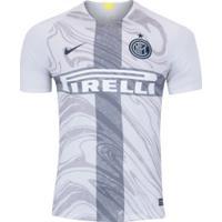Camisa Inter De Milão 18/19 Iii Nike - Masculina - Cinza Claro