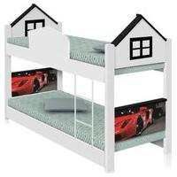 Beliche Infantil Casa Carro Red Casah