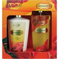 Kit Loção Corporal Love Secret Romance 250Ml + Body Splash Romance 250Ml - Unissex