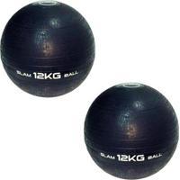 Bolas Medicine Slam Ball Para Crossfit 12 Kg Liveup - Unissex