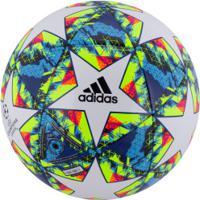 Bola De Futebol De Campo Adidas Champions League Finale 19 Capitano - Branco/Azul Cla
