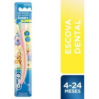 Escova Dental Oral-B Infantil Stages 1- 4 A 24 Meses