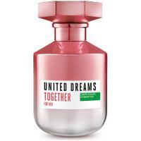 Perfume Benetton United Dreams Together Her Feminino Eau De Toilette 50Ml