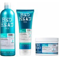 Kit Shampoo Condicionador Máscara Tigi Haircare Recovery