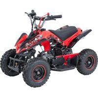 Mini Quadriciclo Atv Bk-502 49Cc 2T Vermelho Bull Motors