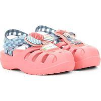 Sandália Infantil Grendene Kids Disney Sunny Baby - Feminino-Rosa