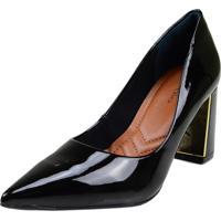 Sapato Di Vaio Scarpin Bico Fino Preto
