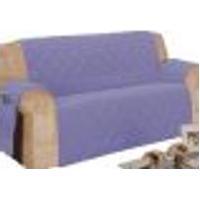 Protetor Para Sofá De 04 Lugares Com Assento De 2,10M Matelado Microfibra Lú Lilás