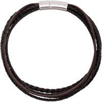Tateossian Pulseira Cobra - Marrom