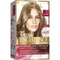 Coloração Imédia Excellence Creme N°7.1 Louro Acinzentado L'Oréal 47G