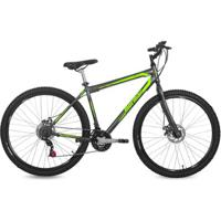 Bicicleta Aro 29 Mtb 21V Freio A Disco Jaws Mormaii - Unissex