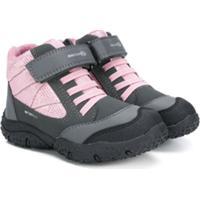 Geox Kids Bota Com Velcro - Roxo