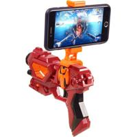 Controle Game - Unik Toys - Vermelho - Kanui