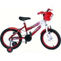 Bicicleta Aro 16 Onix Com Roda Al E Acessorios - Unissex
