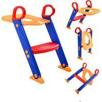 Assento Redutor Para Vaso Sanitario Infantil Com Escada Troninho Com Escadinha Para Criança - Kanui