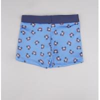 Sunga Infantil Boxer Mickey Estampada Azul