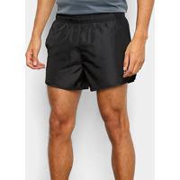 Shorts Asics Overlap 3'' Masculino - Masculino-Preto