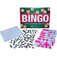 Jogo De Tabuleiro Pais E Filhos Bingo Multicolorido - Kanui
