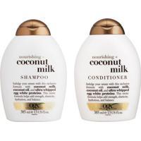 Kit De Shampoo & Condicionador Coconut Milk Ogx- 385Mljohnson & Johnson