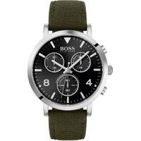 Relógio Hugo Boss Masculino Nylon Verde - 1513692